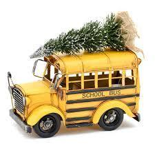 school bus Christmas tree